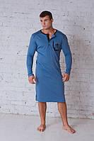 Сорочка мужская джинс 701