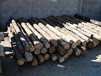 Столб из Сосны 2,5 метра (подтоварник)