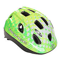 Шлем Mirage Inmold 52-56cm (166 green/white), фото 1