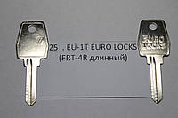 Заготовка ключа EU-1T EURO LOCKS (FRT-4R длинный)
