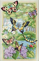 """Набор для алмазной мозаики """"Лесные бабочки"""""""