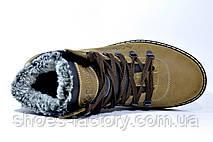Зимние ботинки в стиле Columbia, на меху (Кожа), фото 3