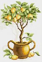 """Алмазная мозаика """"Лимонное дерево"""""""