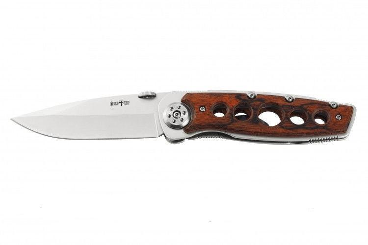 """Нож складной """"Турист """",деревянная рукоять ,200мм"""