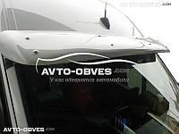Солнцезащитный козырек для VolksWagen Crafter 2006-2011 (под покраску - с креплением)