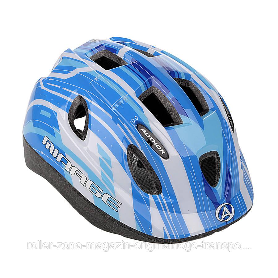 Шлем Mirage, сине/белый, размер 48-54 cm