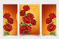 Схема для вышивания бисером Маковая фантазия (золото) (серия «Элит») АР2-003