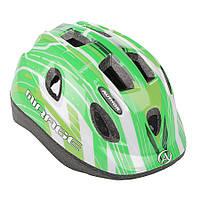 Шлем Mirage, зелено/белый, размер 48-54 cm, фото 1