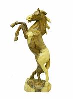 Лошадь деревянная на дыбах 60 см