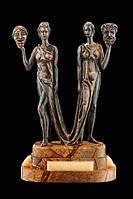 """Монументально-декоративная скульптура """"Талия и Мельпомена"""" Vizuri M01"""