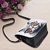 Женская маленькая сумочка с Котом в очках, фото 2