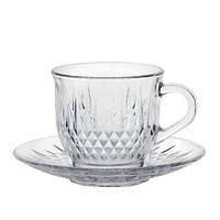 Сервиз чайный из стекла, 170 мл, ZS22705