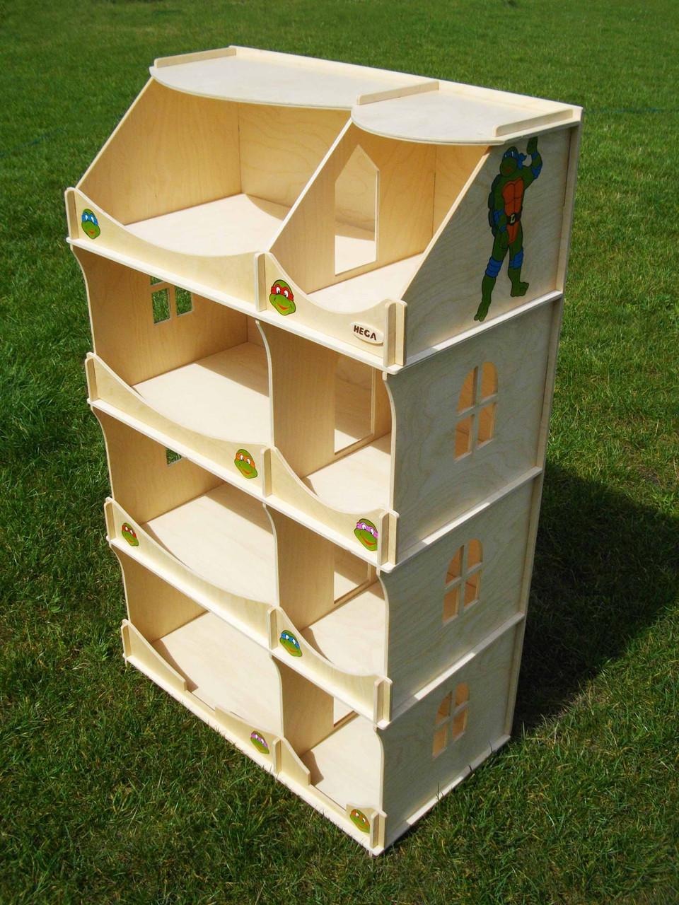 Домик-шкаф для игрушек БОЛЬШОЙ