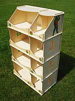 Домик-шкаф для игрушек БОЛЬШОЙ, фото 1