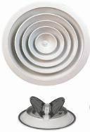 Диффузор потолочный круглый 150 - 350