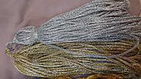 Шнур из люрекса плетенный