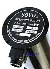 Шаговый двигатель SOYO 130BYG350B 5А 50N.m, фото 3