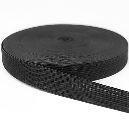 Резинка бельевая 2см черная, фото 2