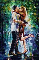 """Алмазная мозаика """"Поцелуй под дождем"""""""