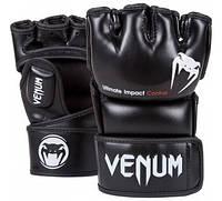 Оригинальные Перчатки Venum Impact MMA Gloves  Черный, S