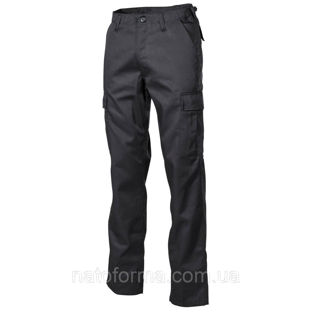 Штаны, брюки тактические, черные, BDU (от компании МFH)