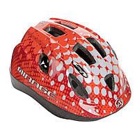 Шлем Mirage Inmold 52-56cm (168 red/white), фото 1