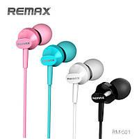 Наушники Remax RM-501 с микрофоном