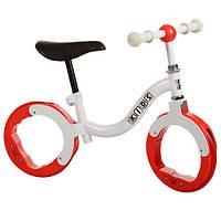 Беговел PROFI KIDS детский 10 д. M 3140 (1шт)колеса резина,без спиц,красный