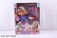 Кукла 5375 Мила, звук(рус), реагирует на аксессуары, 35см