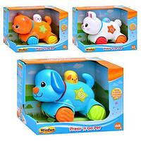 Музыкальная игрушка Животное 3 вида Win Fun H 8801 NL