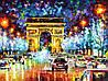 """Картина по номерам «Идейка» (КН1018) художественный творческий набор """"Триумфальная арка""""  50x40 см"""