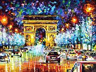 """Картина по номерам «Идейка» (КН1018) художественный творческий набор """"Триумфальная арка""""  50x40 см, фото 1"""