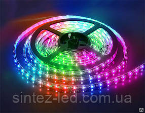 Светодиодная лента SMD 3528/54 12V RGB IP44 Код.57413