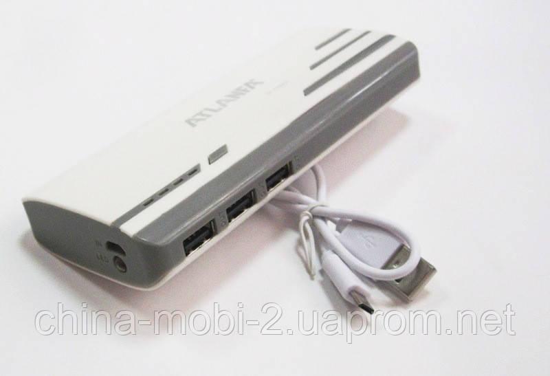Универсальная батарея -  ATLANFA power bank 12000mAh   AT-D2017