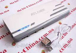 Универсальная батарея -  ATLANFA power bank 12000mAh   AT-D2017 , фото 2