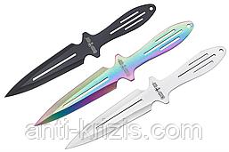Ножи метательные F 027 (3 в 1) с чехлом+подарок или бесплатная доставка+документ что не ХО!