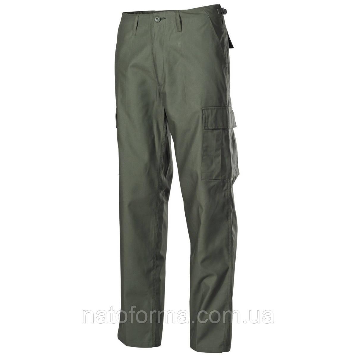 Штаны, брюки тактические, олива, BDU (от компании МFH)