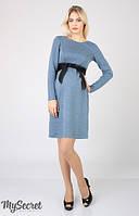 Платье для беременных и кормящих мам Orbi  2-в-1 синее - С, М, Л