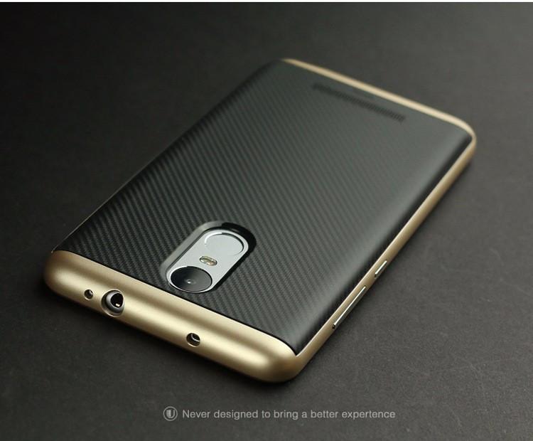 Чехол для Xiaomi Redmi Note 3 iPaky gold