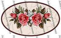 Вафельные картинки цветы