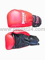Перчатки бокс Кожа Profi 12 оz