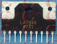 Микросхема кадровой развертки Sanyo LA7848 SIP10