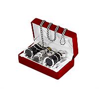 Бинокль 3x25 - Театральныи (black) в подарочной упаковке+подарок или бесплатная доставка!