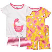 Комплект пижам хб Картерс Фламинго