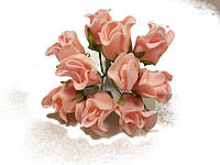 Роза 10792-1-6-1 персиковая