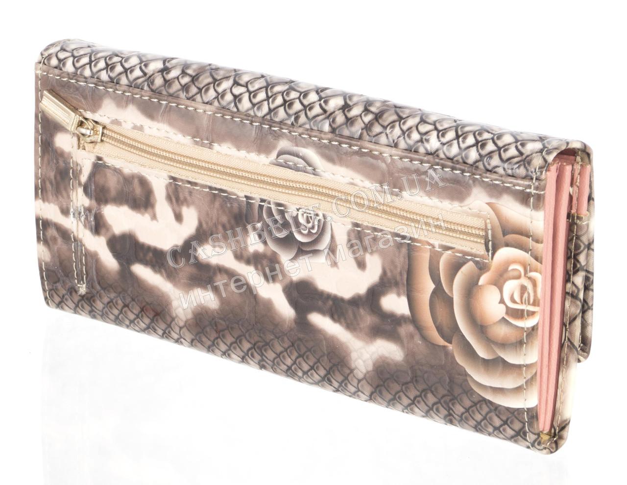 de77899a47eb ... Лаковый женский кошелек из кожи высокого качественный DEKESI art.