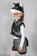 Карнавальный костюм Волк из лазерки и меха на 3-7 лет, фото 1