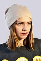 Молодежная зимняя шапка