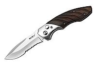 Нож выкидной 9104 EWY,серрейтор+подарок или бесплатная доставка!