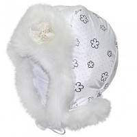 Красивая зимняя шапка ушанка